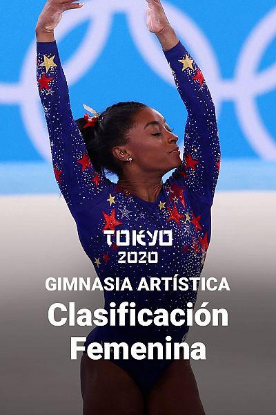 Gimnasia artística: Clasificación femenina. 3 y 4