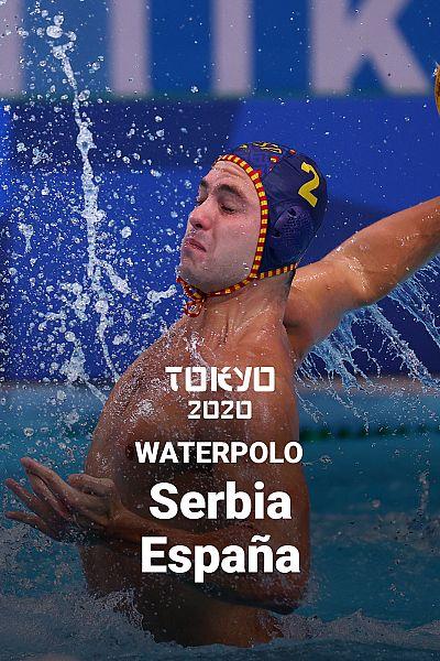 Waterpolo: España-Serbia