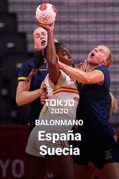 Balonmano: España - Suecia