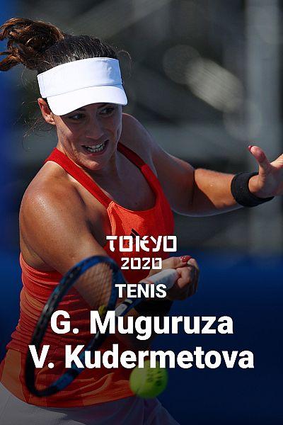 Tenis. Garbiñe Muguruza - Veronika Kudermétova