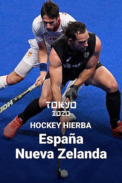 Hockey hierba: España - Nueva Zelanda