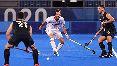 España cae derrotada ante Nueva Zelanda en hockey