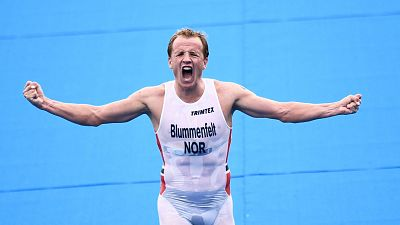 Kristian Blummenfelt, oro en triatlón