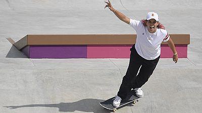 Andrea Benítez debuta en skate en los Juegos Olímpicos