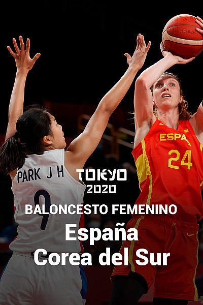 Baloncesto: España - Corea del Sur