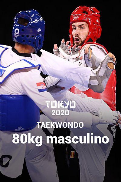 Taekwondo: -80kg: T. Kanaet vs Raúl Martínez