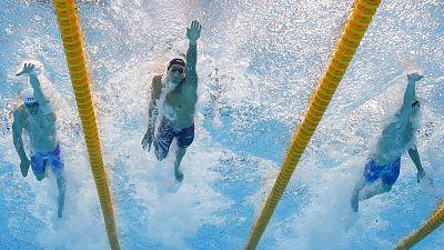 Estados Unidos, oro en 400 metros relevo