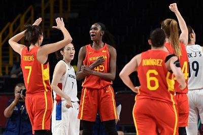 España vence a Corea del Sur en su debut olímpico (69-73)