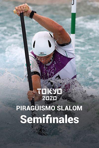 Piragüismo Slalom C1: Semifinales