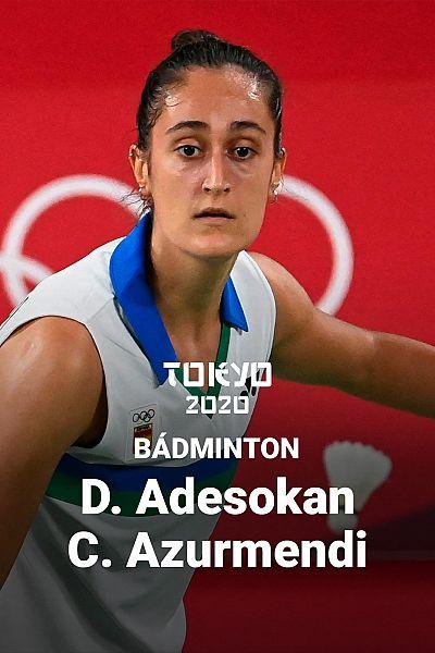 Bádminton: D.Adesokan - C. Azurmendi