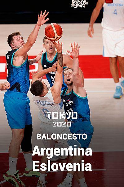 Baloncesto: Argentina - Eslovenia