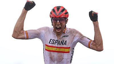 David Valero, bronce en bicicleta de montaña