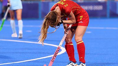 Las 'Red Sticks' pierden 3-0 contra Argentina