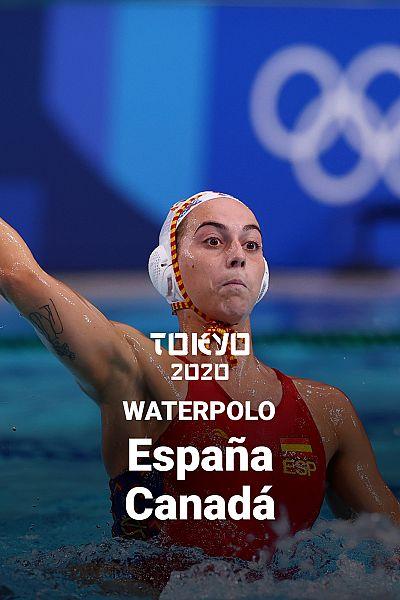 Waterpolo: España - Canadá
