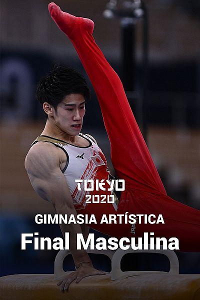 Gimnasia artística: Final masculina por equipos
