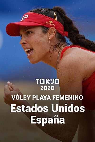 Vóley Playa: EEUU - España