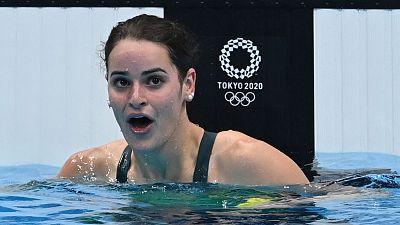 La australiana Kaylee McKeown, oro con récord olímpico