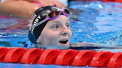 Lydia Jacoby se lleva el oro de los 100 metros braza
