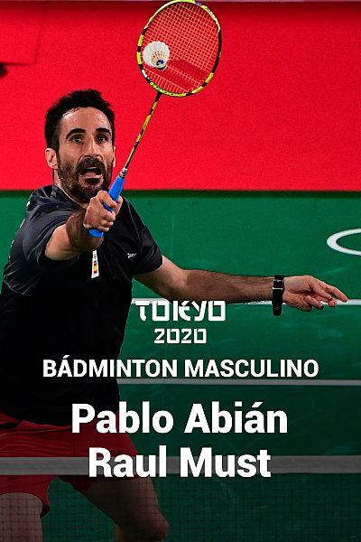 Bádminton: Pablo Abián - Raul Must