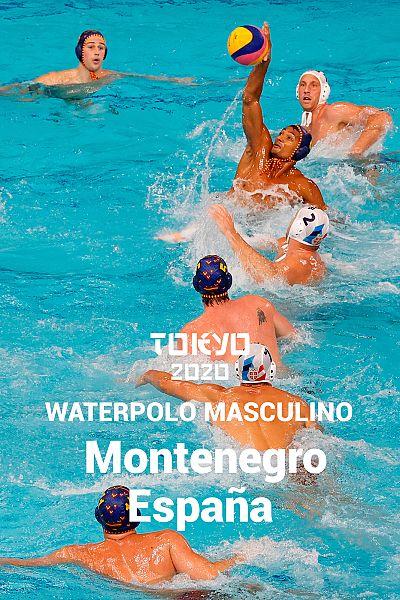 Waterpolo: Montenegro - España