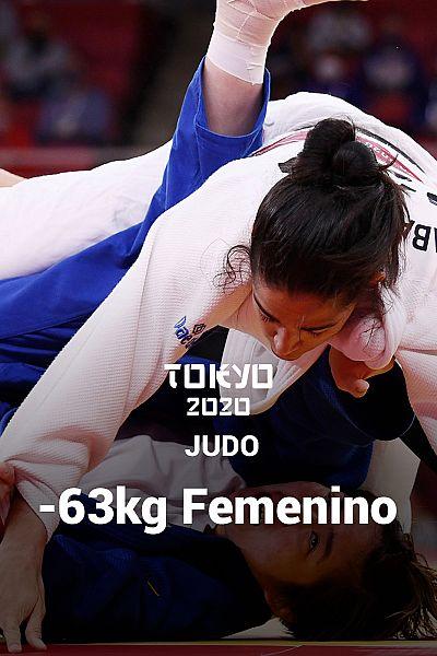 Judo: -63kg: Cristina Cabaña - Kiyomi Watanabe