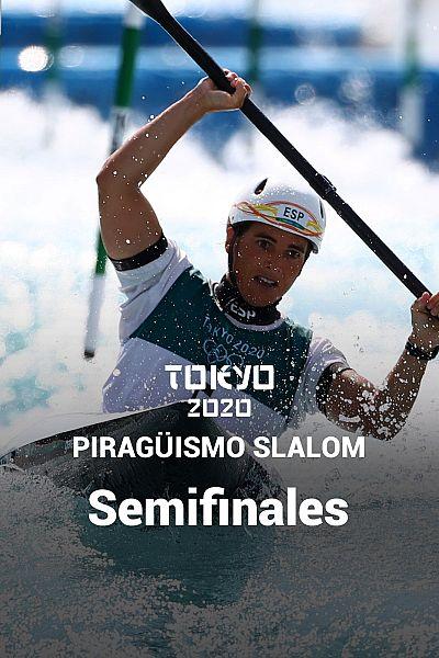 Piragüismo Slalom K1: Semifinales
