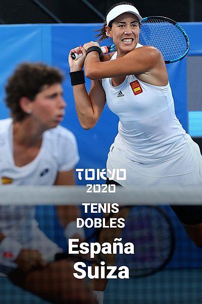 Tenis: Dobles. Muguruza/Suárez - Bencic/Golubic