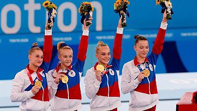 Rusia le roba el trono a EE.UU. en gimnasia