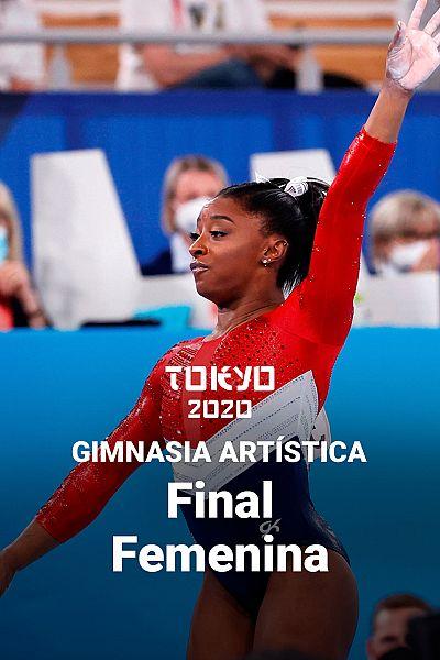 Gimnasia artística: Final femenina por equipos