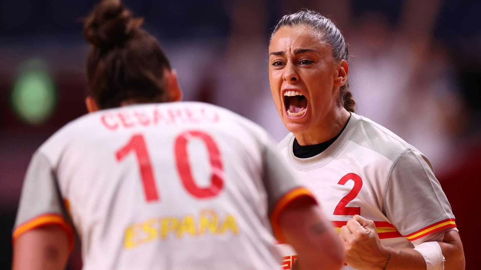 Tokyo 2020 | Francia 25 - España 28 | Las 'Guerreras' someten a Francia  desde la solidez defensiva y consiguen su primera victoria en Tokyo 2020 -  RTVE.es