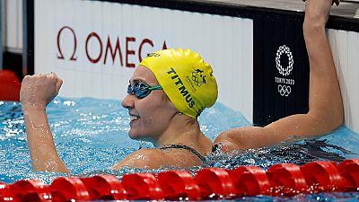 Ariarne Titmus, oro en los 200m libres con récord olímpico