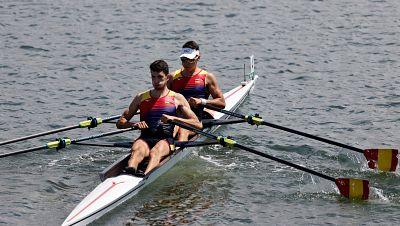 Horta y Balastegui, eliminados en semifinales de Doble scull ligero