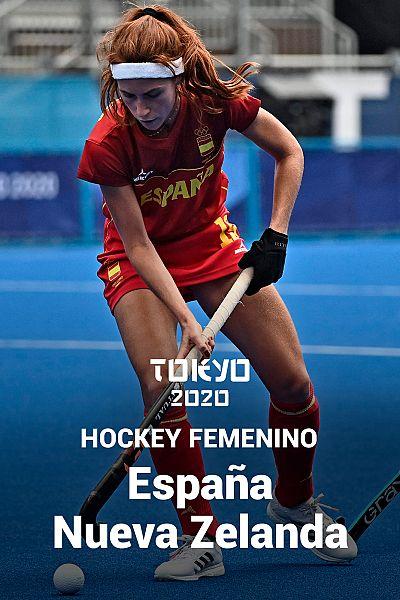 Hockey: España - Nueva Zelanda