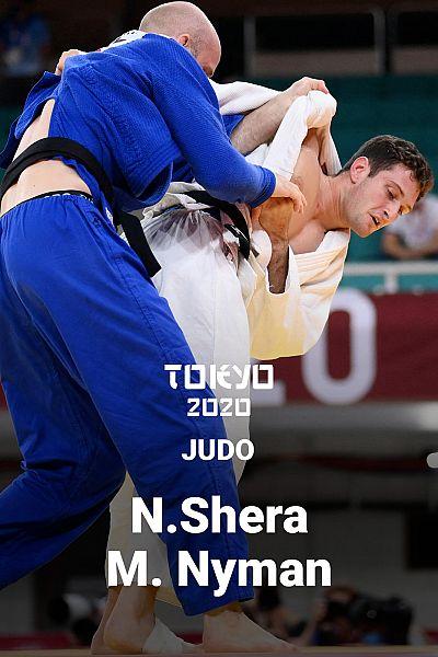 Judo: -90kg: Nikoloz Sherazadishvili - Marcus Nyman