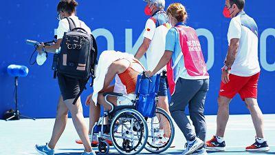 Un golpe de calor priva a Paula Badosa de luchar por las medallas en Tokyo 2020