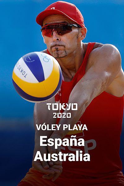 Vóley Playa: España - Australia