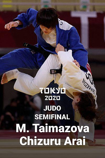 Judo: -70kg femenino. Semifinales