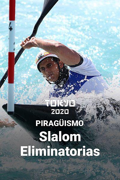 Piragüismo Slalom: Eliminatorias