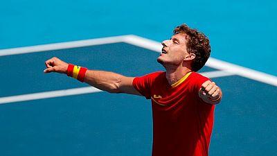 Carreño, única opción de medalla en tenis para España