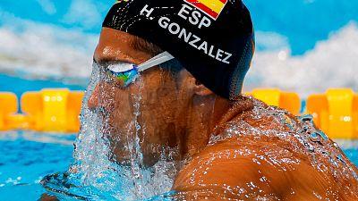 Clasificación de Hugo González a semifinales del 200 estilos