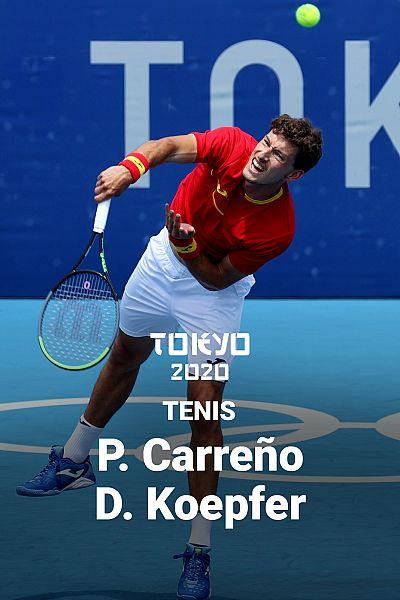 Tenis: Pablo Carreño - Dominik Koepfer