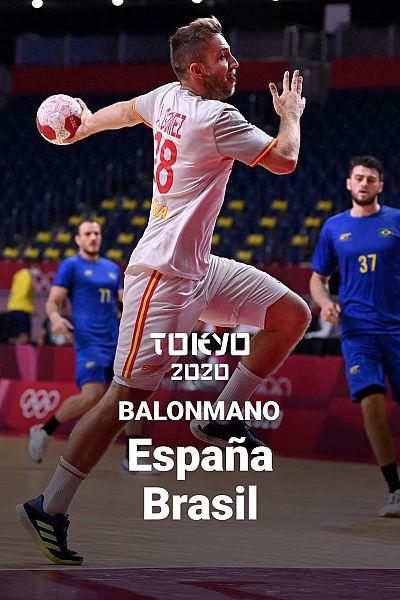 Balonmano: España - Brasil