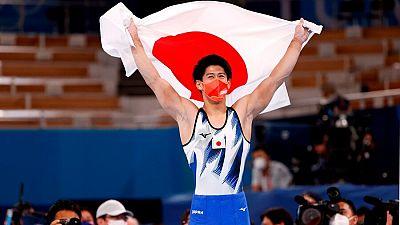 El japonés Hashimoto gana el oro individual en gimnasia