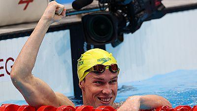 Stubblety-Cook, oro y récord olímpico en los 200 braza