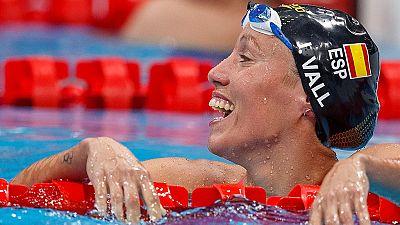 Jessica Vall se queda a las puertas de la final olímpica