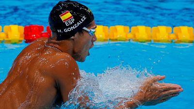Hugo González se queda sin la final de 200m estilos