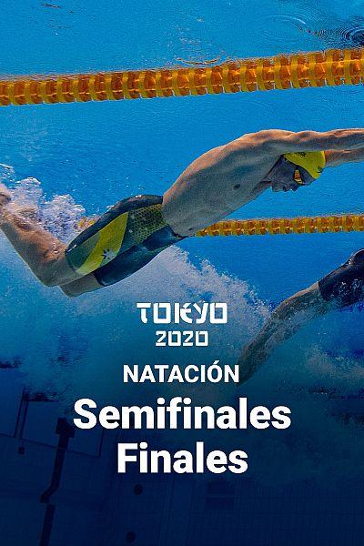 Natación. Semifinales y Finales. Jornada 5