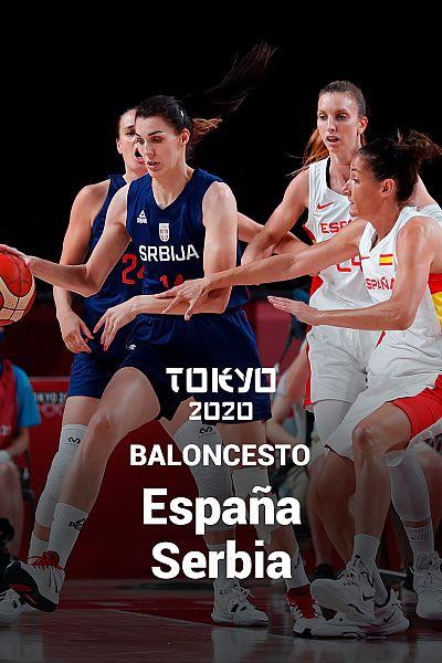 Baloncesto: España - Serbia