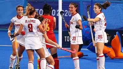 España vence a China y acaricia los cuartos de final