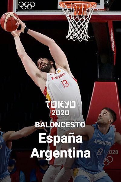 Baloncesto: España - Argentina